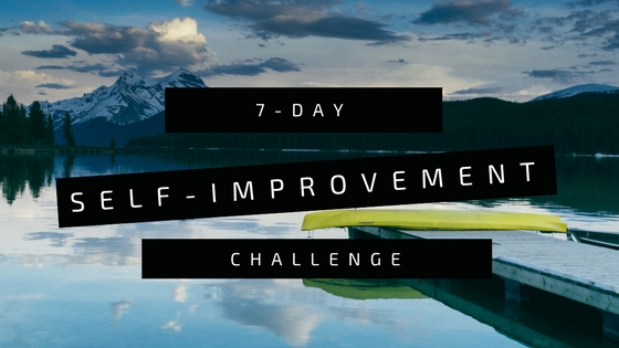 7 Day Self Improvement Challenge To Sea Or Not To See